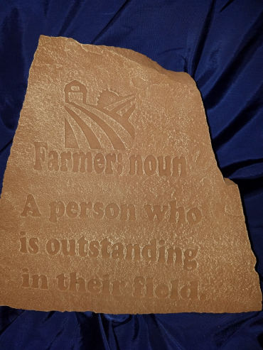 Farmer Stepping Stone