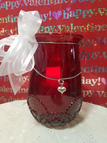 RED HOT VALENTINE CANDLE
