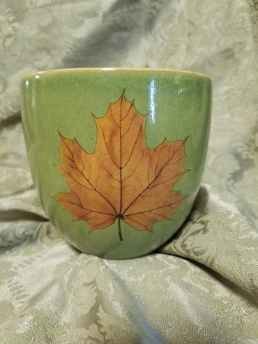 Leaf Bowl for Fresh Arrg or Plant
