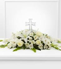 Eternal Light Cross Bouquet
